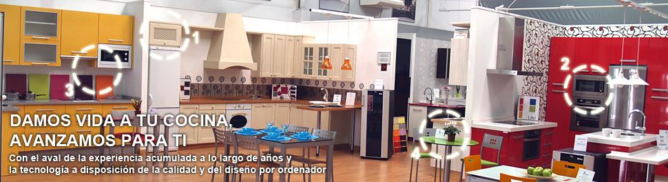 Fali muebles de cocina isla cristina huelva for Ver cocinas montadas
